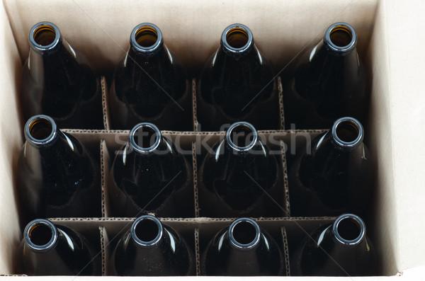 Empty beer bottles Stock photo © sundaemorning