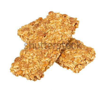 Healthy Granola bar isolated on white Stock photo © supersaiyan3