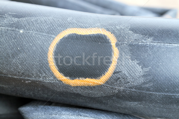 Recapped inner tube for bicycle Stock photo © supersaiyan3