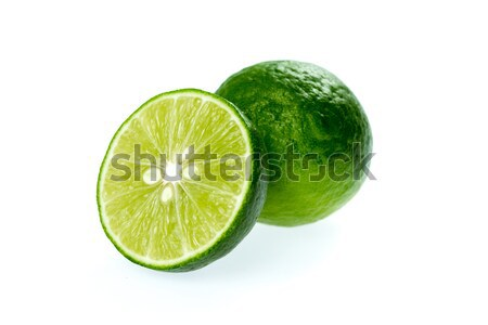 Citrus vág izolált fehér levél gyümölcs Stock fotó © supersaiyan3