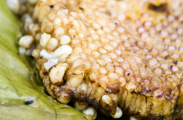 roasted immature beehive on banana leaves Stock photo © supersaiyan3