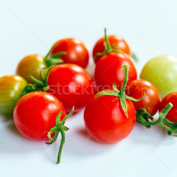 группа помидоров яркий цвета томатный шаблон Сток-фото © supersaiyan3