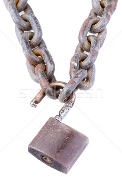 chain and padlock Stock photo © supersaiyan3