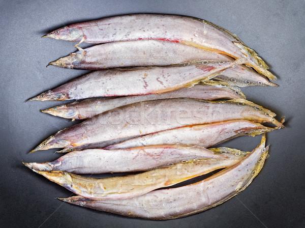 сушат продовольствие пространстве рыбалки блюдо Сток-фото © supersaiyan3