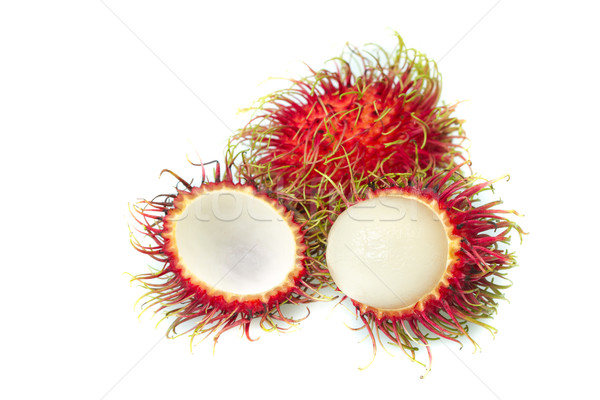 Makró izolált fehér textúra haj gyümölcs Stock fotó © supersaiyan3