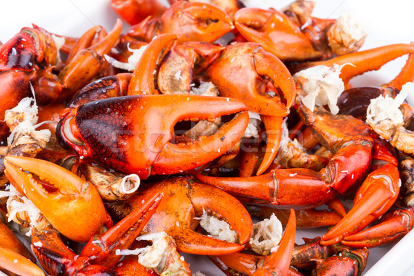 Krab gekookt rijstveld voedsel zee Stockfoto © supersaiyan3