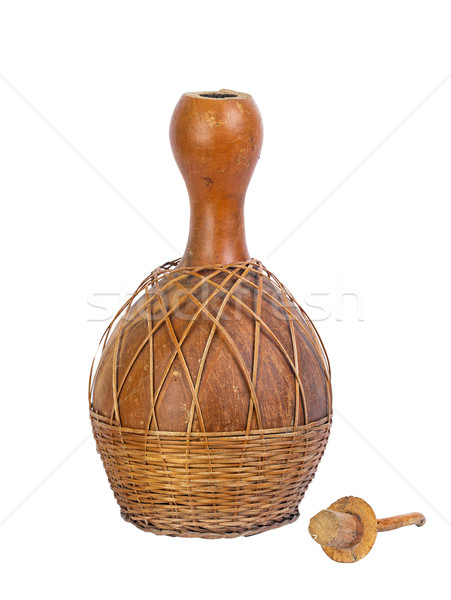 dried bottle gourd used for traditional canteen Stock photo © supersaiyan3