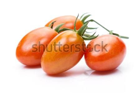 слива томатный белый свежие природы лист Сток-фото © supersaiyan3