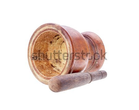 Geïsoleerd witte houten keuken tool cultuur Stockfoto © supersaiyan3