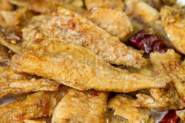 seasoning crispy fried fish Stock photo © supersaiyan3