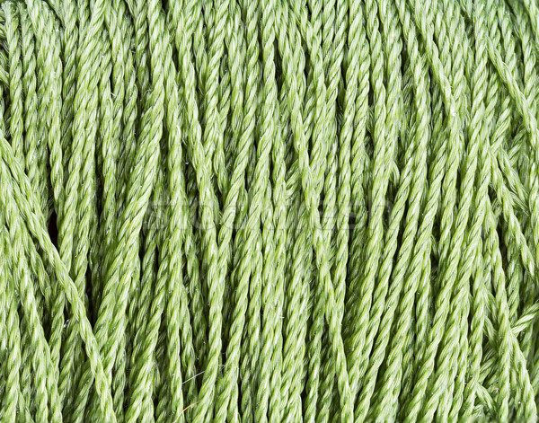 green nylon Rope texture pattern Stock photo © supersaiyan3