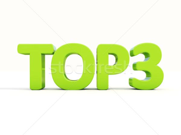 Stock photo: 3d Top