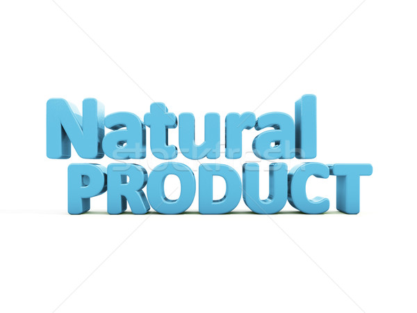 3d Natural Product Stock photo © Supertrooper
