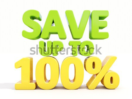 Stock photo: Save up to 10%