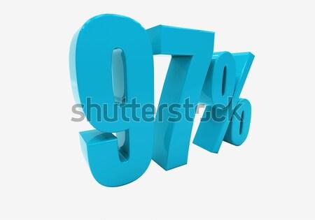 3D kelime diyet ikon beyaz 3d illustration Stok fotoğraf © Supertrooper
