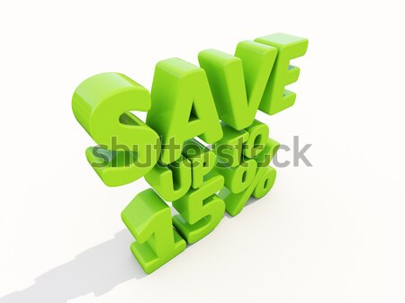 Save up to 9% Stock photo © Supertrooper
