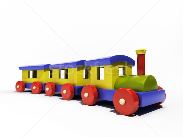 Toy train Stock photo © Supertrooper