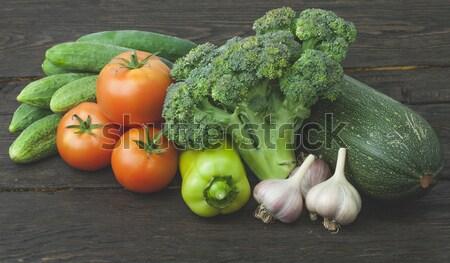 Still life vegetables Stock photo © Supertrooper