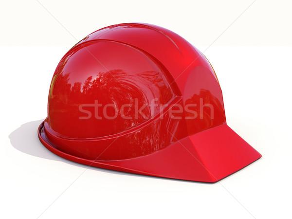 Red safety helmet  Stock photo © Supertrooper
