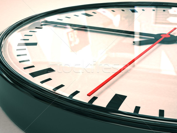 Horloge composer 3D image sable Photo stock © Supertrooper