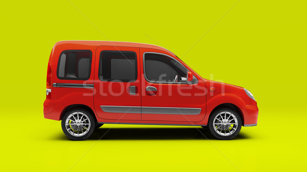 Сompact cargo van Stock photo © Supertrooper