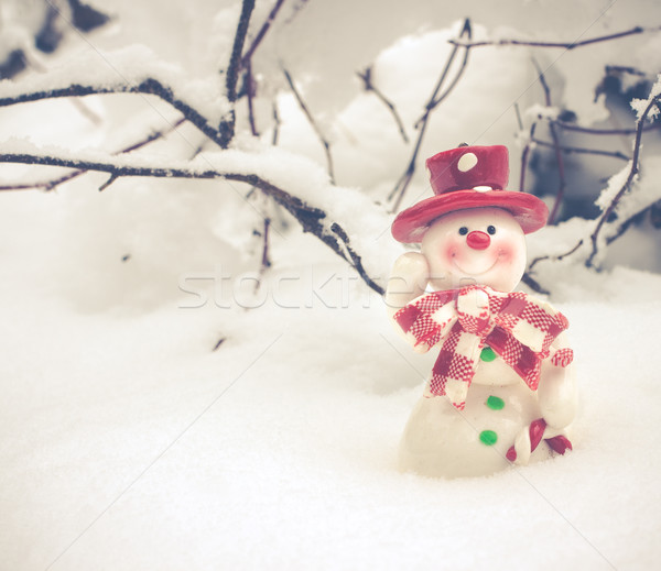 Christmas Greeting Card Stock photo © Supertrooper