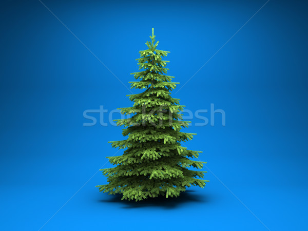 Christmas tree Stock photo © Supertrooper