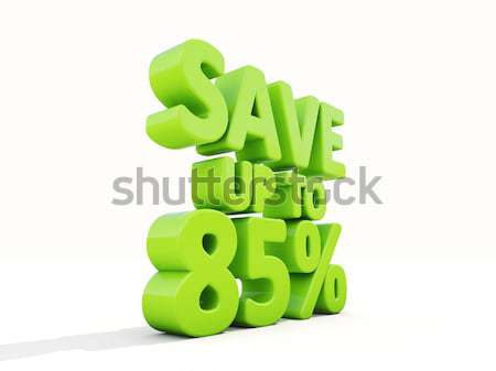 Save up to 8% Stock photo © Supertrooper