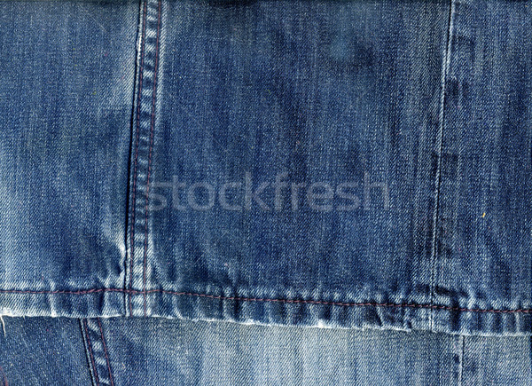 Jeans Fabric  Background Stock photo © Supertrooper