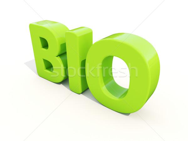 3d Bio Stock photo © Supertrooper