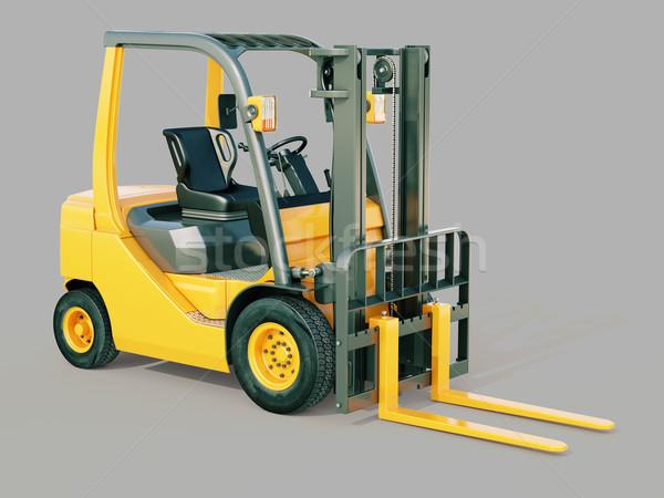 Forklift truck Stock photo © Supertrooper