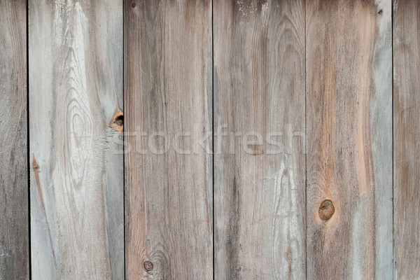 Old wooden blue painted surface Stock photo © Supertrooper