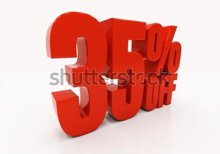 3D 65 percent Stock photo © Supertrooper