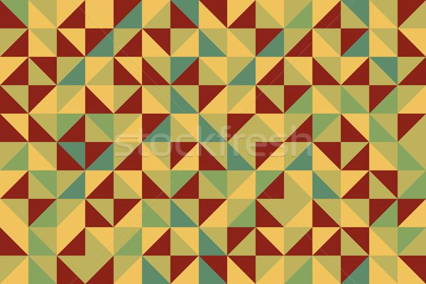 Trapunta senza soluzione di continuità abstract geometrica decorativo Foto d'archivio © Supertrooper
