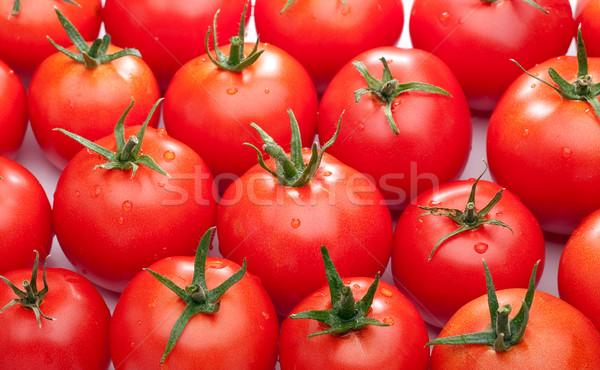 Luminoso rosso pomodori fresche ciliegio Foto d'archivio © Supertrooper