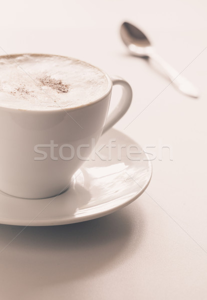 Cappuccino cup Stock photo © Supertrooper