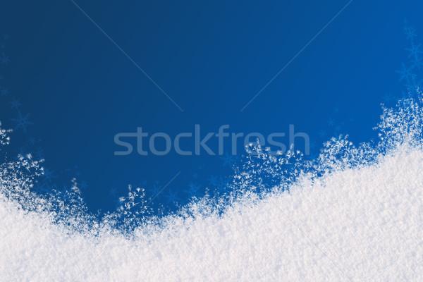 Winter background Stock photo © Supertrooper