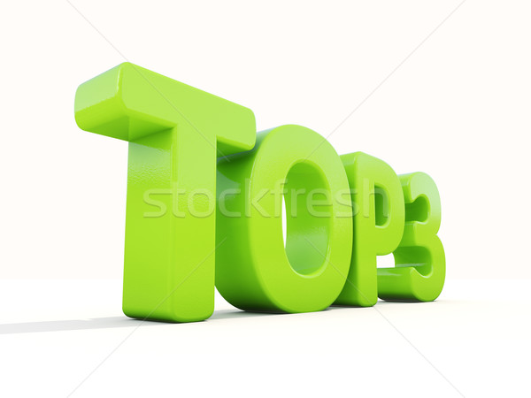 3d Top Stock photo © Supertrooper