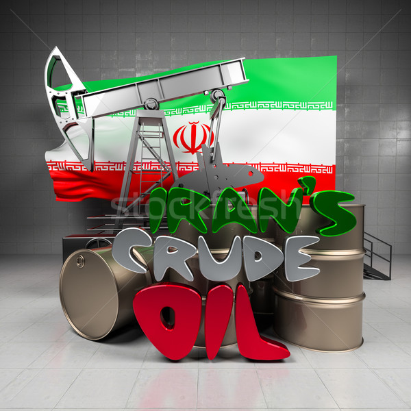 Iran crude oil Stock photo © Supertrooper