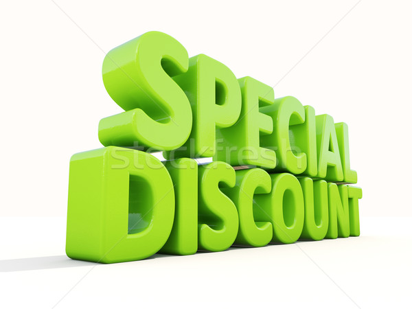 3d Special discount Stock photo © Supertrooper