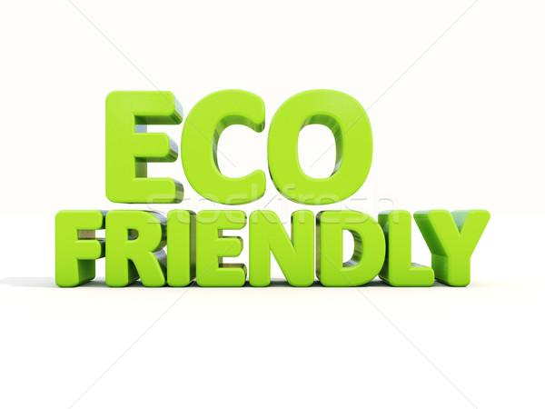 3d Eco Stock photo © Supertrooper