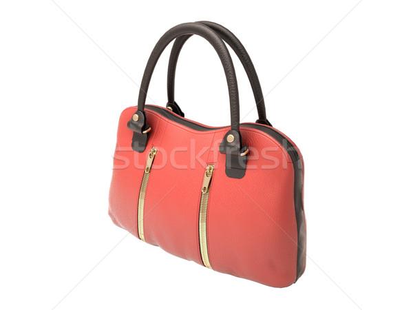 Red handbag Stock photo © Supertrooper