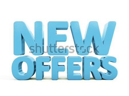 3d New offers Stock photo © Supertrooper