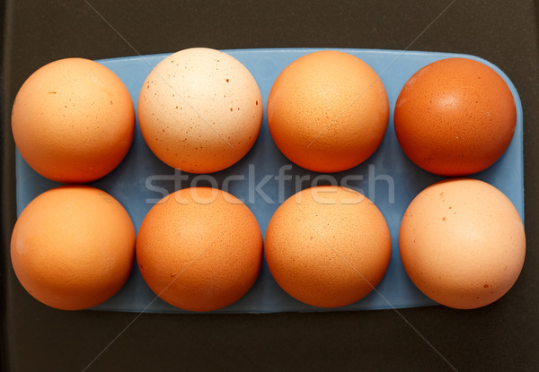 Fresh eggs Stock photo © Supertrooper
