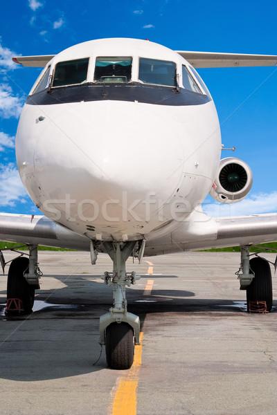 Business jet Stock photo © Supertrooper