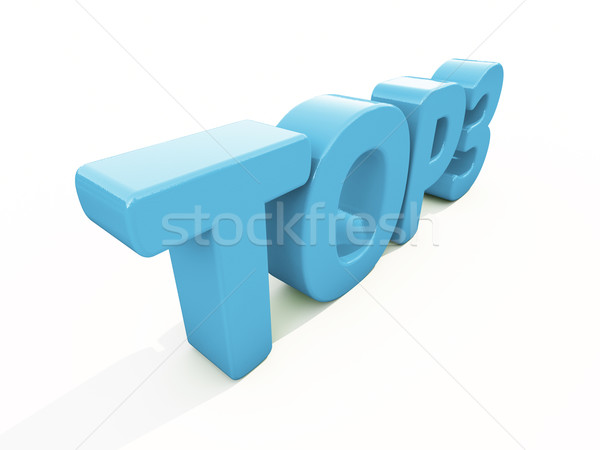 3d Top Stock photo © Supertrooper