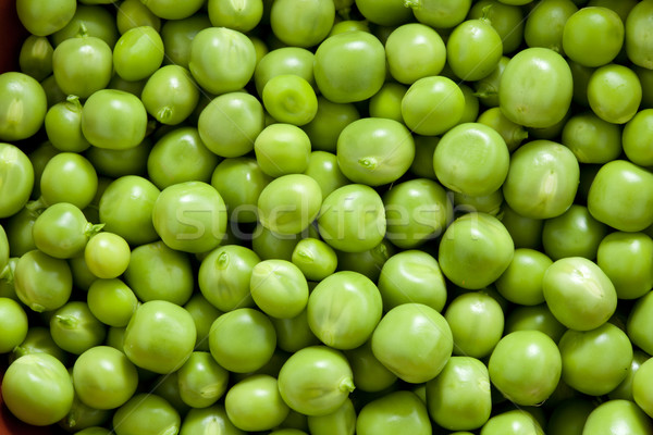 Shelling peas Stock photo © Supertrooper