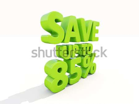 Save up to 85% Stock photo © Supertrooper
