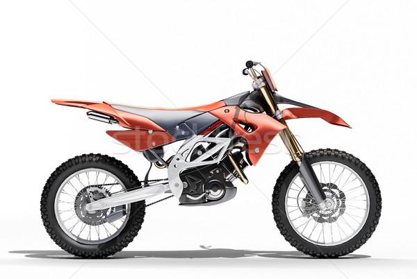 スポーツ 自転車 光 影 速度 ストックフォト © Supertrooper