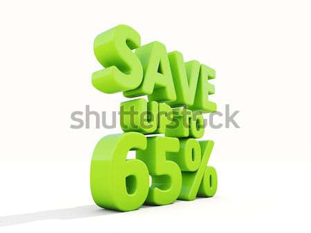 Save up to 6% Stock photo © Supertrooper
